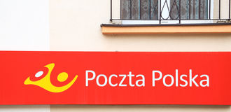 View of the Polish post office Royalty Free Stock Images