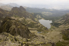 View of Polish Tatra mountains Stock Photography