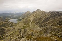 View of Polish Tatra mountains Royalty Free Stock Image