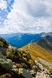 View Of Polish West Tatras in Summer Stock Photos