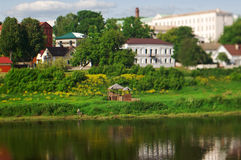 View Polotsk. Belarus Royalty Free Stock Photography