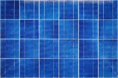 View of polycrystalline photovoltaic cells Stock Photos