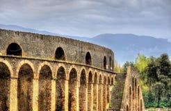 View of the Pompeii Amphitheatre Royalty Free Stock Image