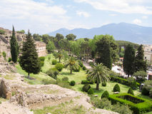 View of Pompeii Stock Images
