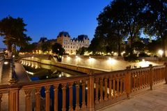 View from Pont au Double Royalty Free Stock Images