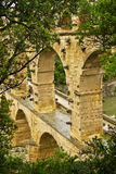 View of the Pont du Gard Royalty Free Stock Image