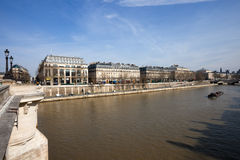 View from Pont Neuf Bridge Royalty Free Stock Images