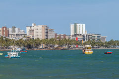 View of Ponta Verde Royalty Free Stock Photography