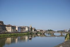 View of Ponte alla Carraia royalty free stock images