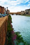 View from Ponte alle Grazie Royalty Free Stock Photos