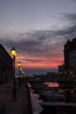 View of Ponte rosso, Trieste Royalty Free Stock Image