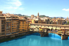 View of Ponte Vecchio, Florence Stock Photo