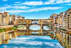 View of Ponte Vecchio. Florence Stock Image
