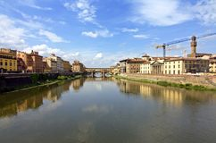 View of ponte vecchio - florence Royalty Free Stock Photo