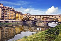 View of ponte vecchio - florence Stock Photos