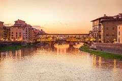 View of Ponte Vecchio. Florence Stock Photography