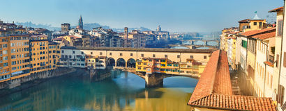View of Ponte Vecchio Royalty Free Stock Photography