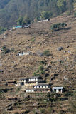 View of Poon Hill in Nepal Royalty Free Stock Image