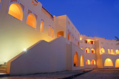 View at popular hotel, Sharm el Sheikh Stock Images