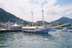 Port in Angra dos Reis. Rio de Janeiro Stock Image