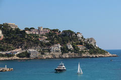 View of the Port De Nice. Stock Images