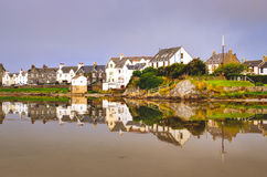 View of Port Ellen town on Isle of Islay, Scotland, United Kingdom Stock Photo