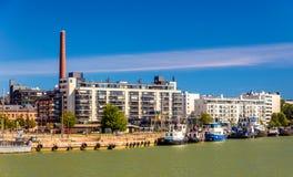 View of Port of Helsinki Stock Photo