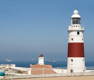 View of the port light of Gibraltar Stock Photos