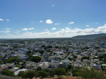 View Of Port Louis. From The Citadel, Mauritius Island Royalty Free Stock Photography