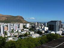 View Of Port Louis. From The Citadel, Mauritius Island Stock Images