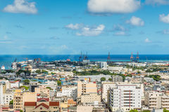 View of Port Louis, Mauritius, Africa Royalty Free Stock Image