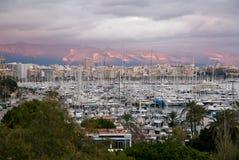 Port of Palma de Mallorca Stock Images