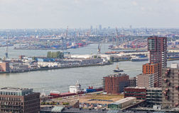 View of port in Rotterdam Stock Photos