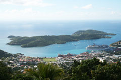 American virgin islands Royalty Free Stock Image