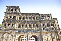 View at Porta Nigra, Trier Stock Photography