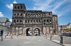 View on Porta Nigra in Trier, Germay Royalty Free Stock Photography