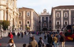 View of Porta Uzeda, Catania Stock Image