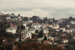 View of Portaria village Royalty Free Stock Photo