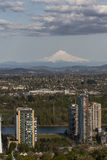 View of Portland OR royalty free stock photo
