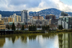 View of Portland, Oregon Royalty Free Stock Photo