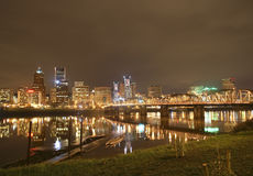 View of Portland, Oregon Cityscape Royalty Free Stock Photo
