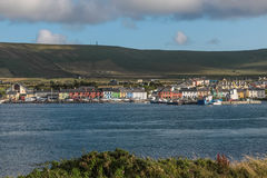 View of Portmagee royalty free stock photos