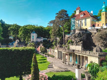 View of Portmeirion Royalty Free Stock Photography