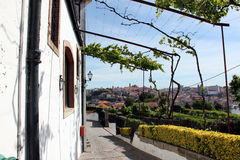 View of Porto. From the callars for storing wine royalty free stock images