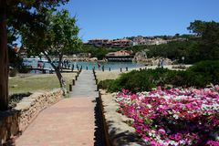 View of Porto Cervo stock images