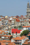 View of Porto city on summer day Royalty Free Stock Photos