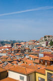View of Porto city on summer day Stock Photos