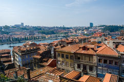 View of Porto city on summer day Stock Images