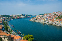 View of Porto city on summer day Royalty Free Stock Images