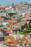 View of Porto city on summer day Royalty Free Stock Photo